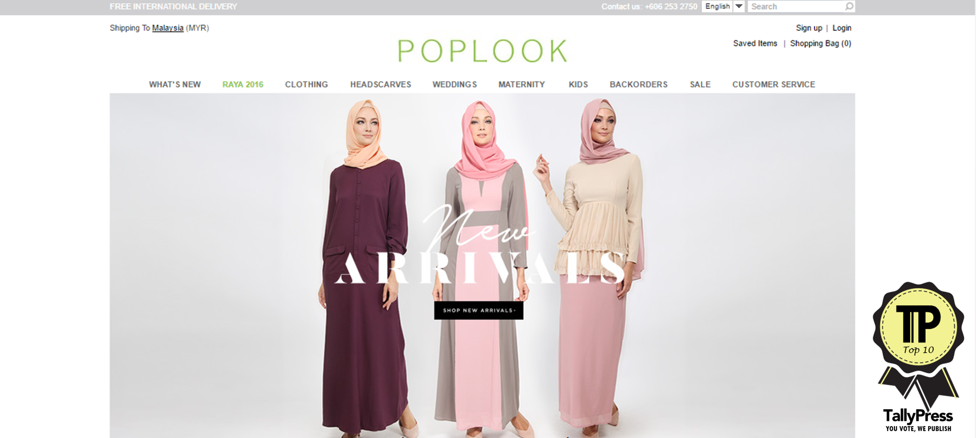 A Fashion Website - Online fashion boutiques