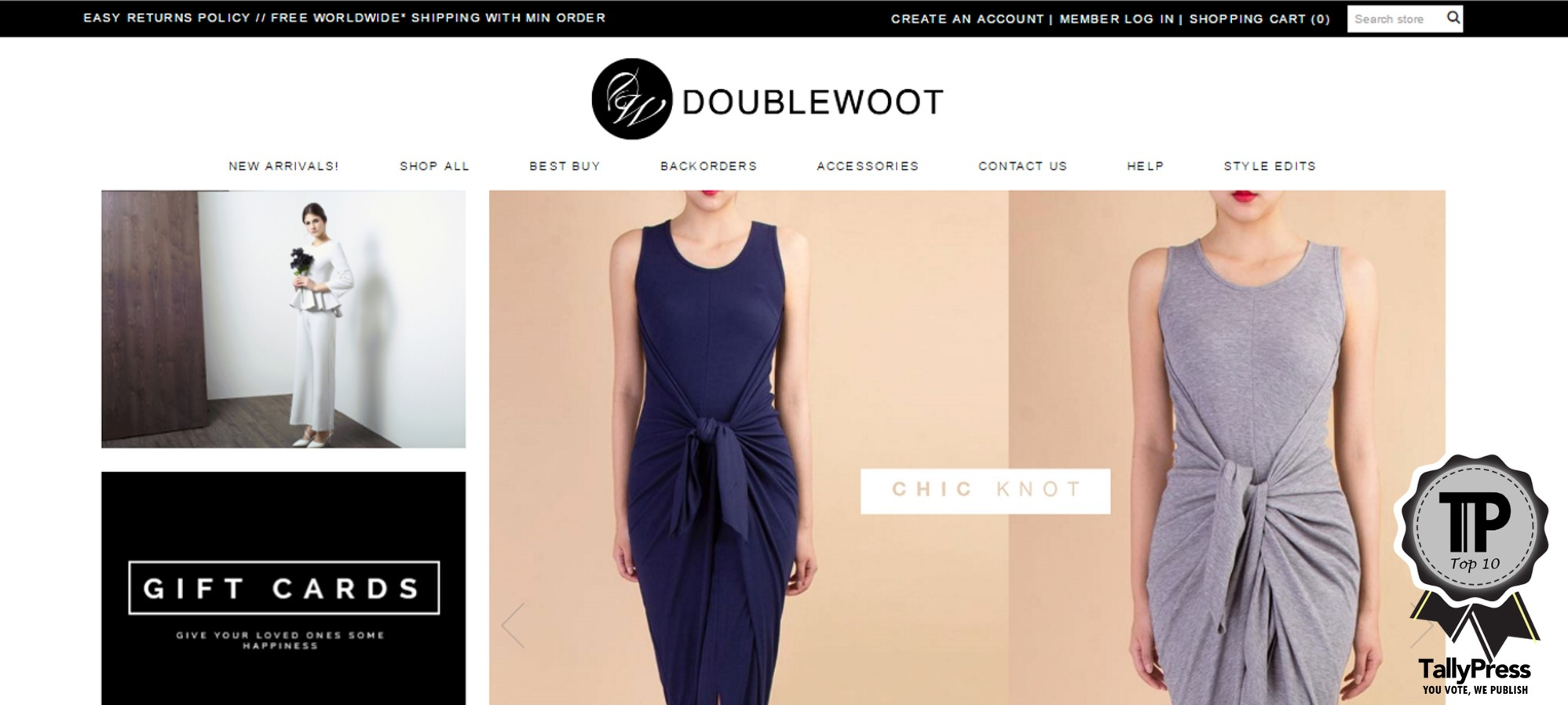 10 Online Fashion Boutiques Every Woman Must Know | TallyPress