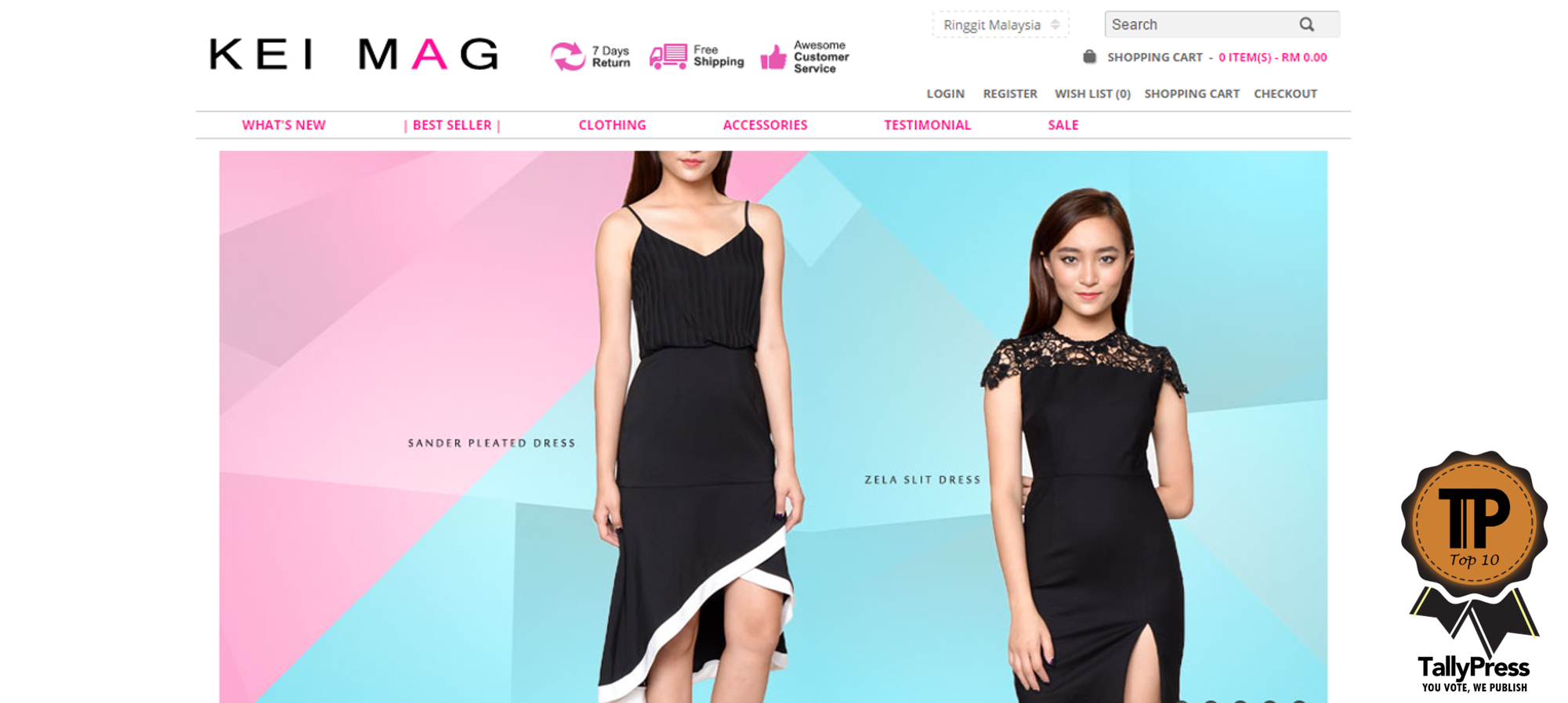 Online Clothing Boutiques Malaysia
