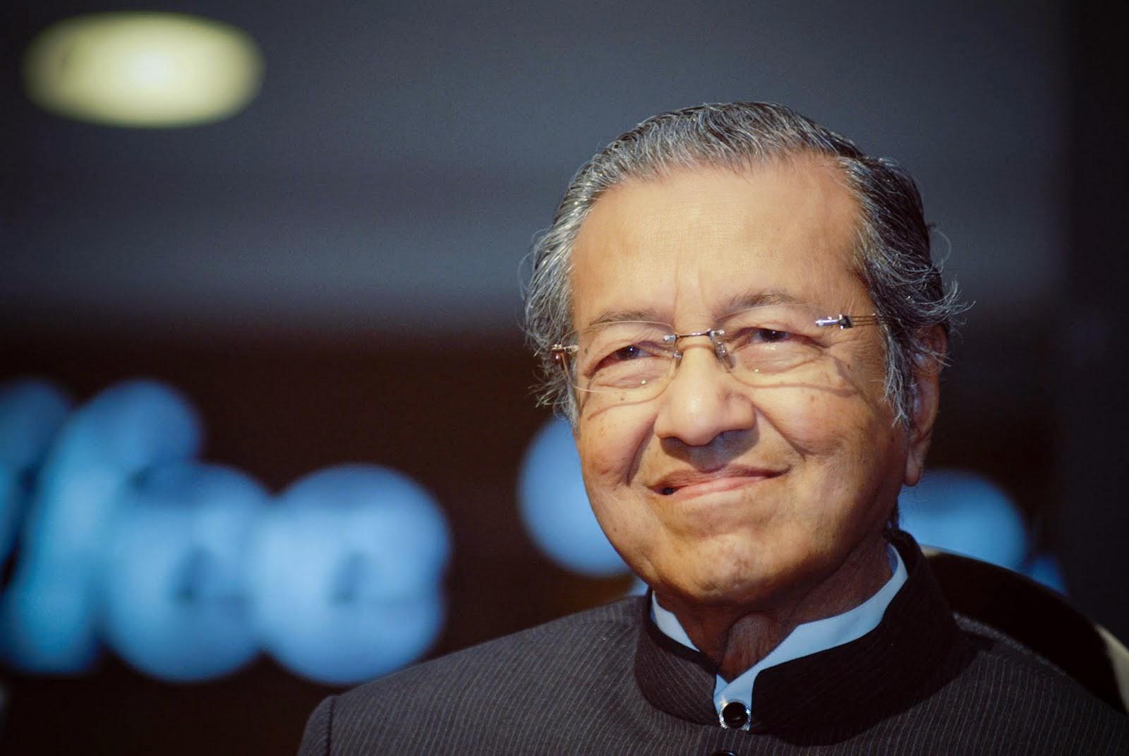 For e.g. Tun Dr. Mahathir bin Mohamad. Image Credit: Inspirasi Remaja Kini