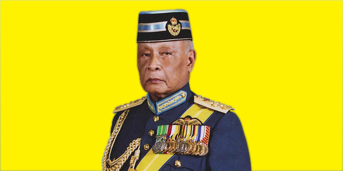 His Royal Highness Sultan of Pahang, Sultan Ahmad Shah. Image Credit: Limkokwing University