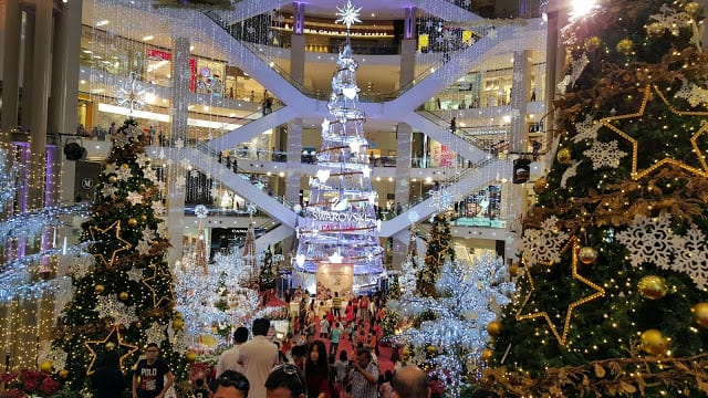 1 pavillion - Mall Christmas Decorations
