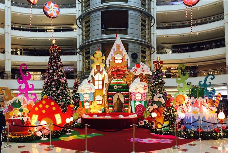 2 suria klcc - Mall Christmas Decorations