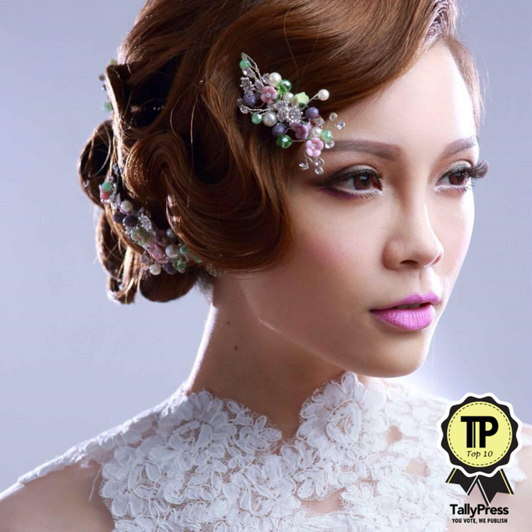 Best Bridal Makeup Artist In North : Top 10 Bridal Makeup Artists in Penang TallyPress