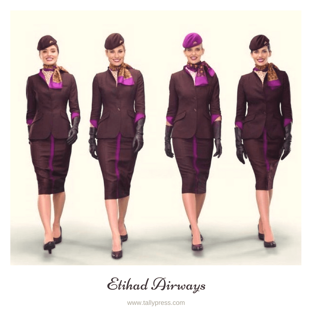 Best Airline Uniforms Of Asia 2017 | TallyPress