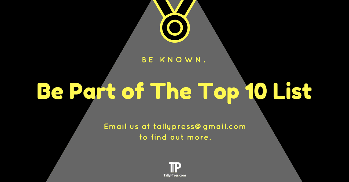 Be Part of The Top 10 Lists
