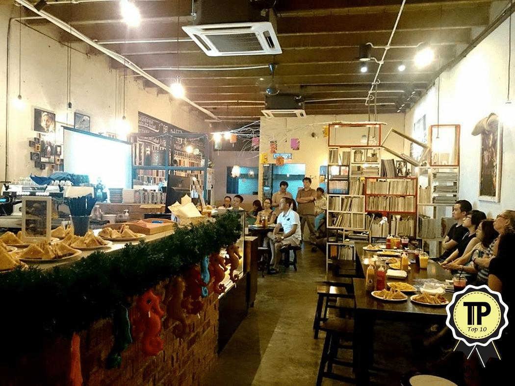 Cafés De Eight
