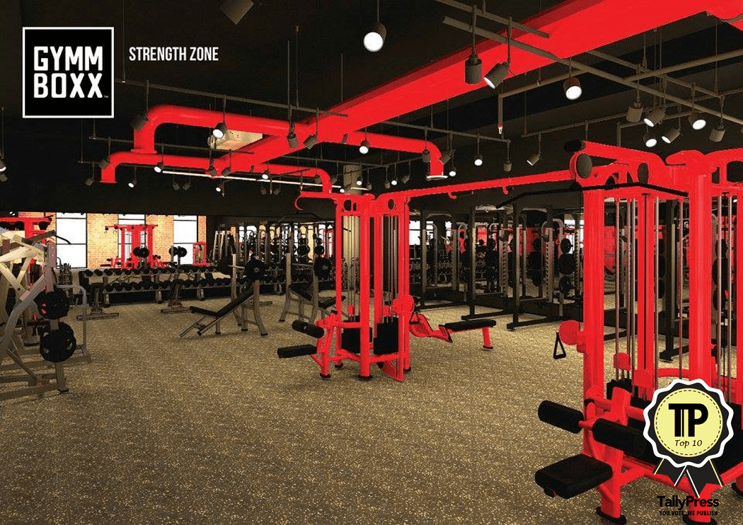 Top 10 Fitness Centres in Singapore Gymmboxx