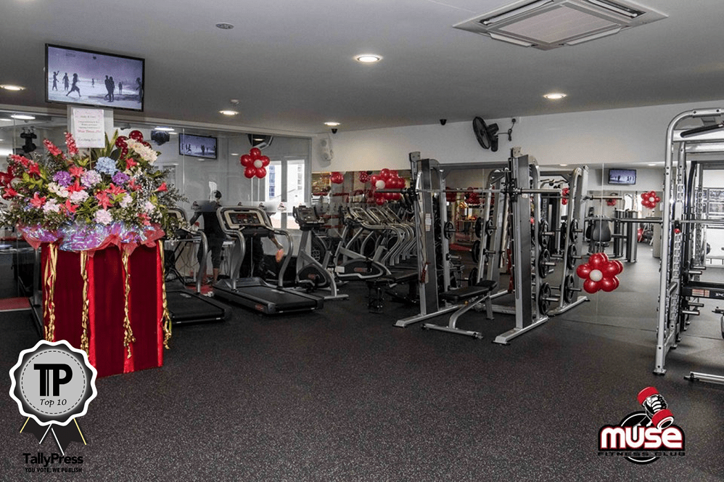 Top 10 Fitness Centres in Singapore Muse Fitness Club