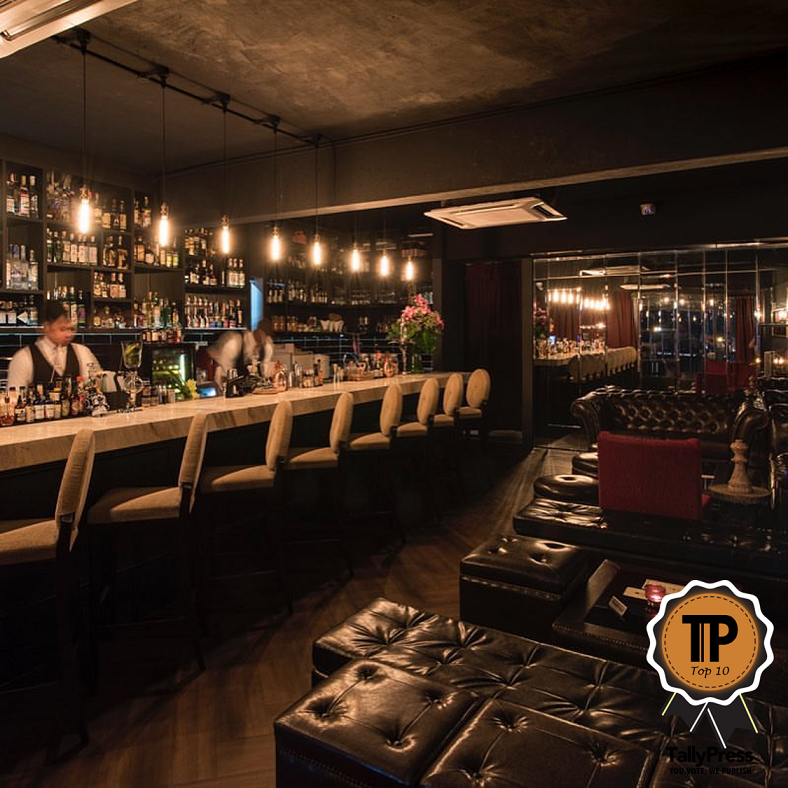 Top 10 Speakeasy Bars in KL & Selangor Hyde at 53m