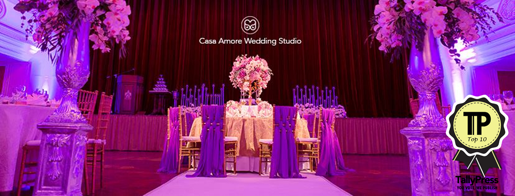 Top 10 Wedding Planners in Penang Casa Amore Wedding Studio