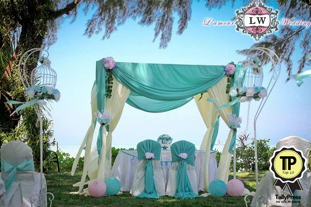 Top 10 Wedding Planners in Penang Lamour Wedding Decoration and Events