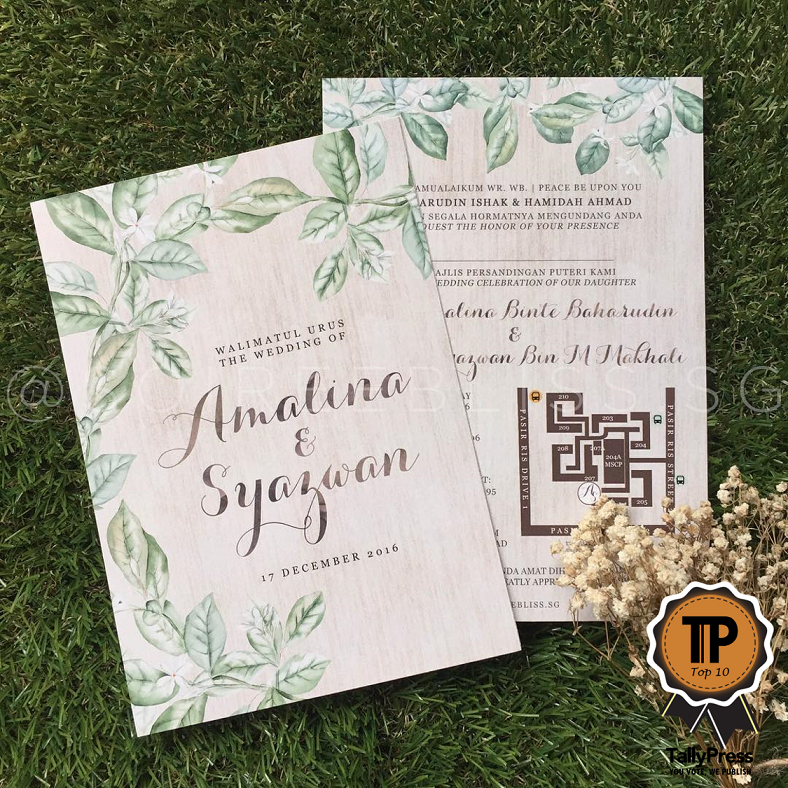 Top 10 Wedding Stationery Makers in Singapore Soireebliss.sg
