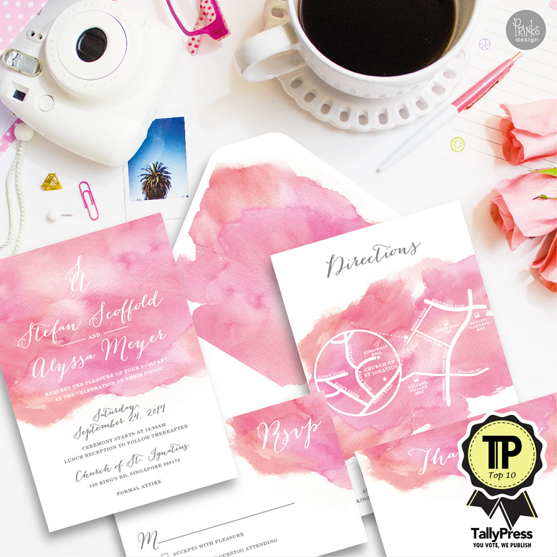 Top 10 Wedding Stationery Makers in Singapore Prinks Design