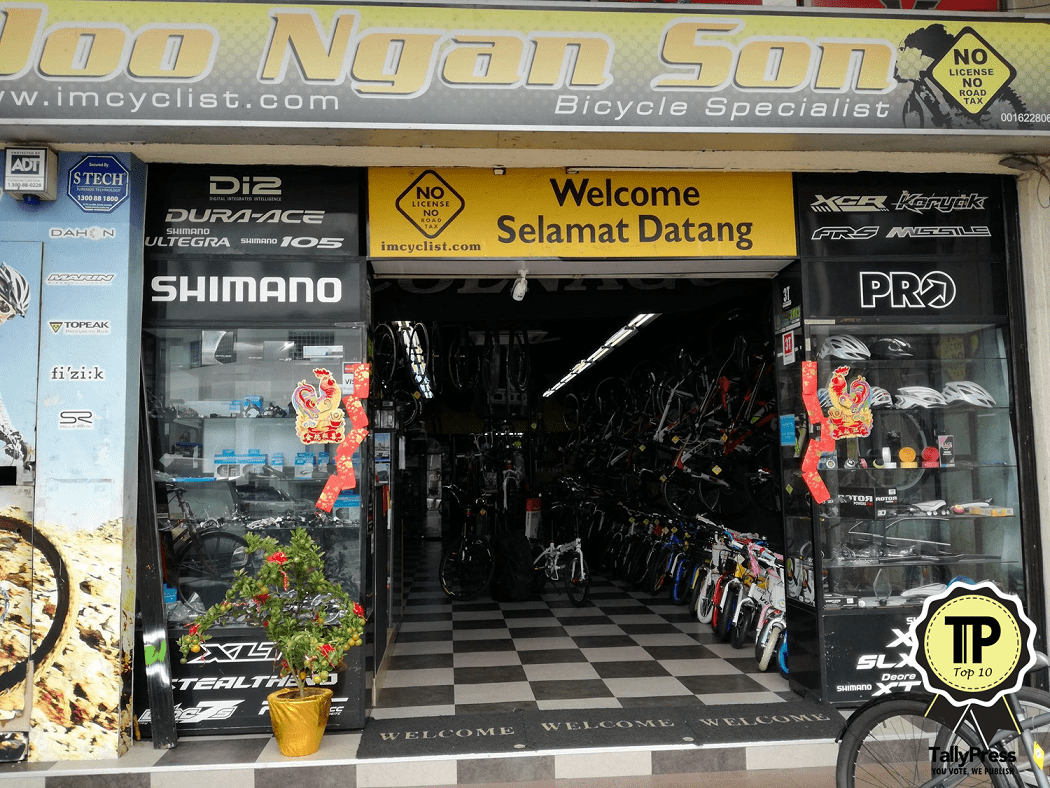 Top 10 Bicycle Shops in KL & Selangor Joo Ngan Bicycle Specialist