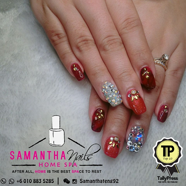 Samantha nails home spa