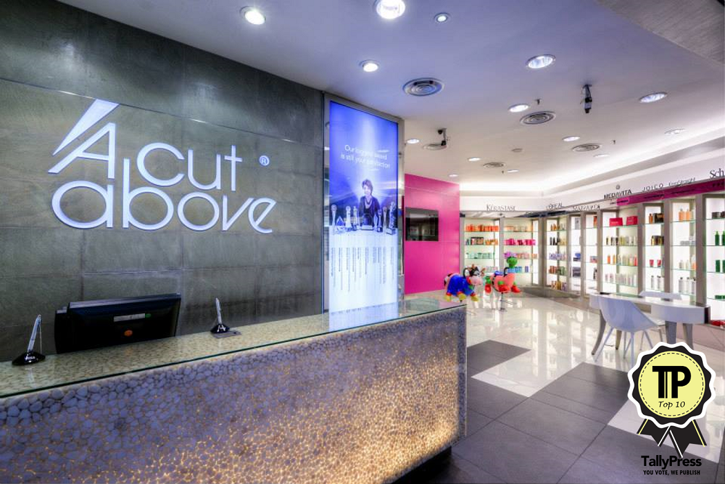Top 10 hair salons in kl selangor for A cut above salon