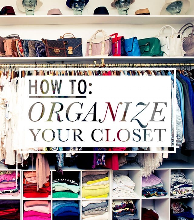 6 Ways To Organize Your Closet Tallypress