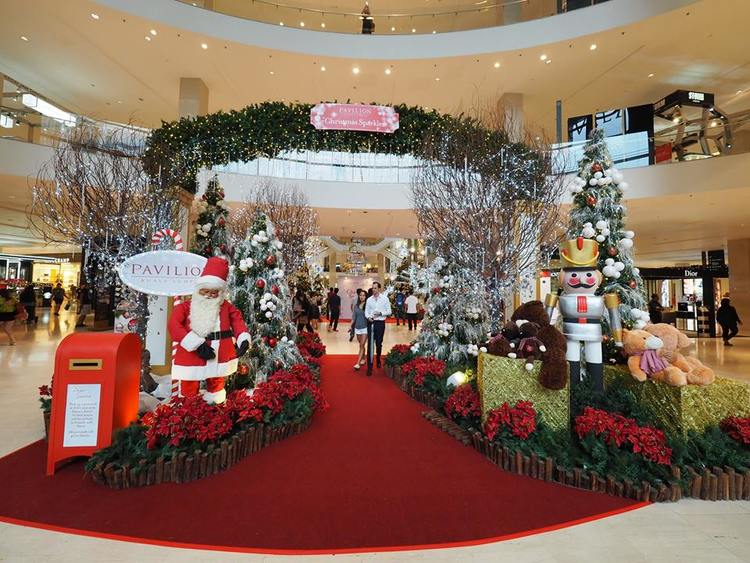 kl shopping mall christmas decorations 2015 - Mall Christmas Decorations
