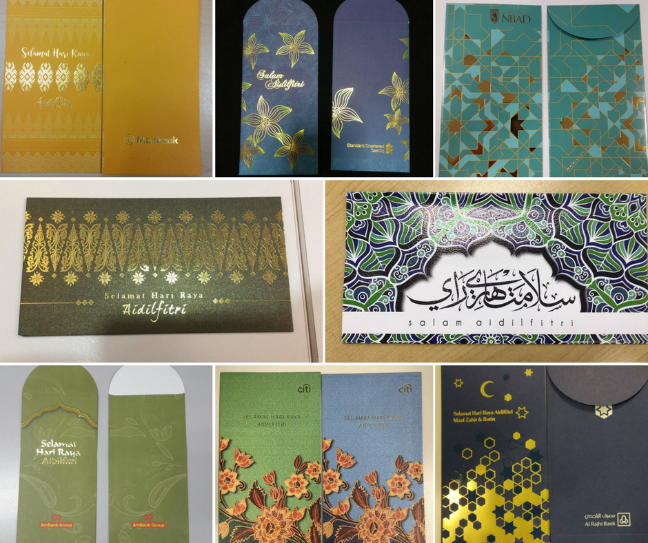 Which Banks In Malaysia Have The Best Sampul Duit Raya Design For
