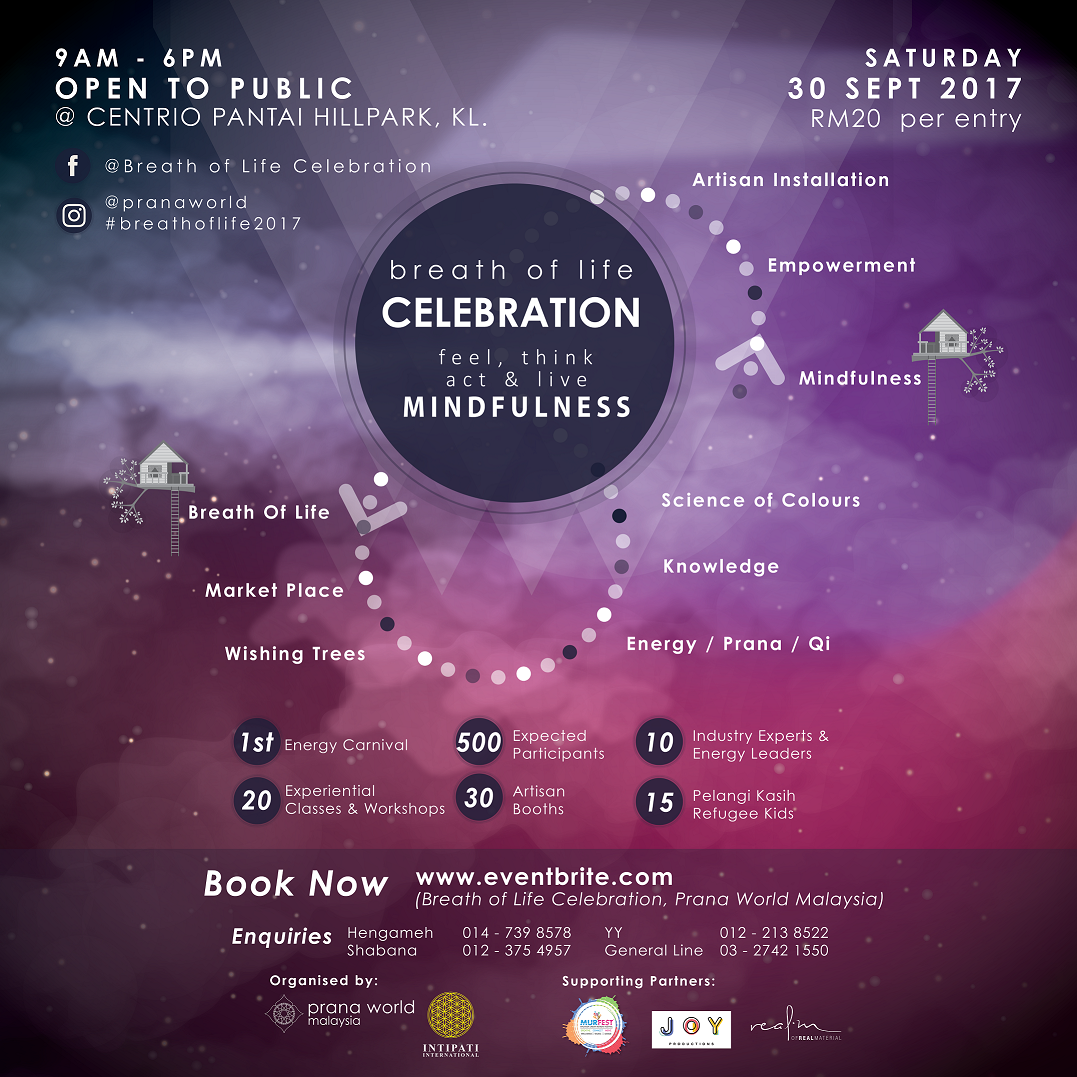 Breath of Life Celebration: Malaysia's First Energy Carnival