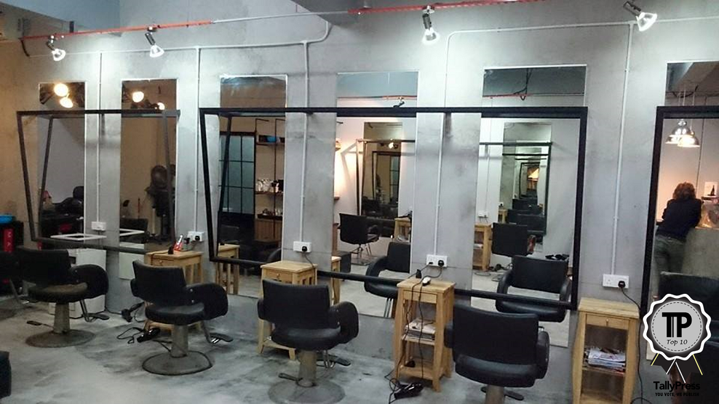 Barber work studio