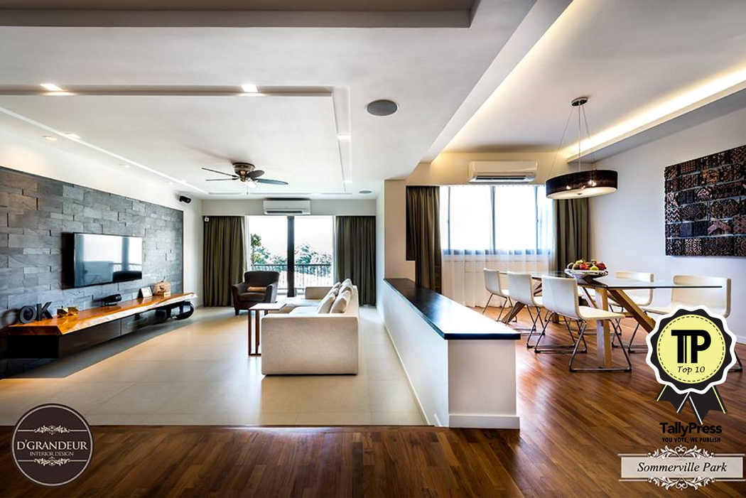 Top 10 interior design firms in singapore for The interior design firm