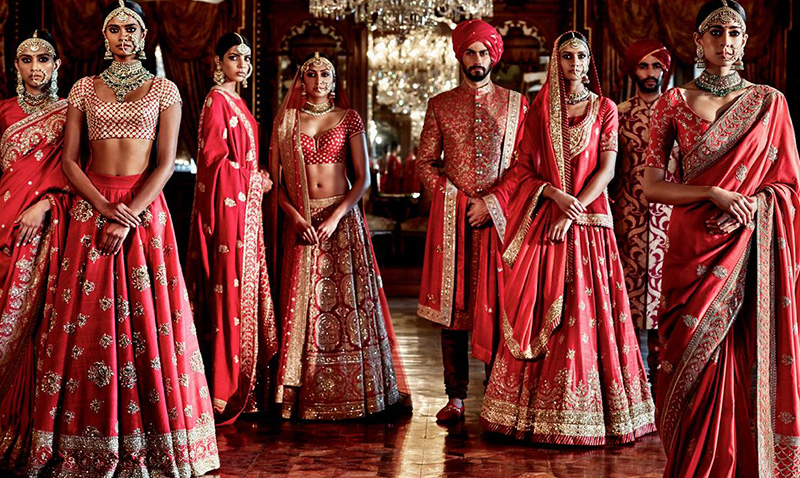 indian clothing - Traditional Wedding Facts