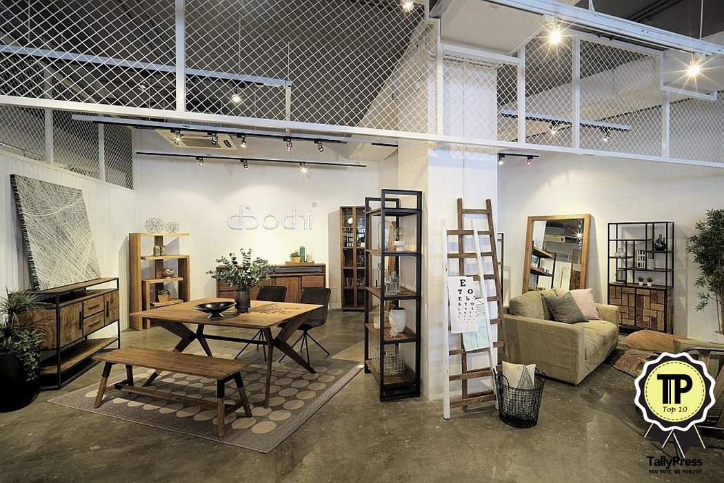 Top 10 furniture home decor stores in singapore tallypress for International home decor stores
