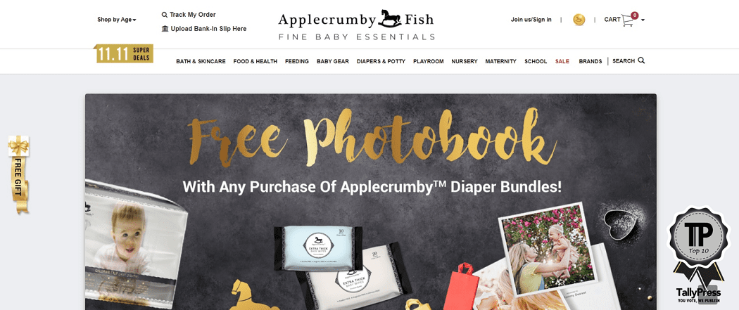 Applecrumby & Fish