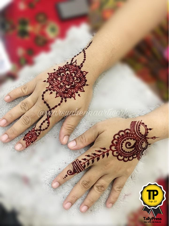 Marsya Henna Artwork
