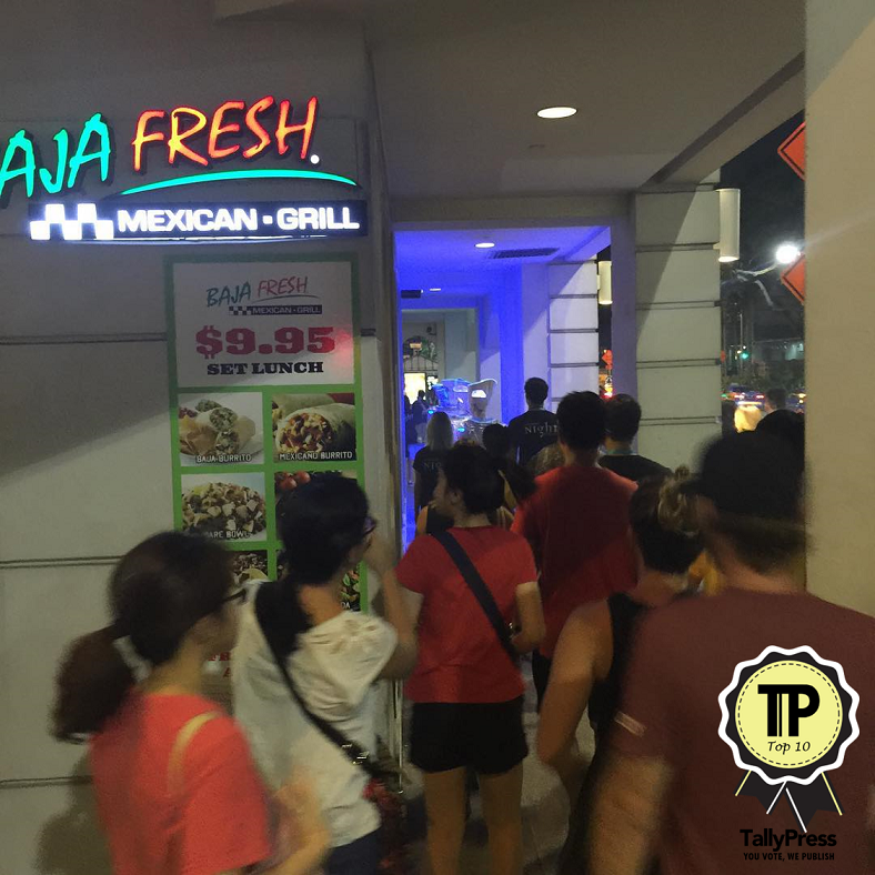 Baja Fresh Mexican Grill Singapore