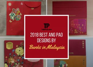 2018 best ang pao designs by banks in malaysia