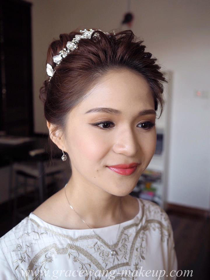 Grace Wang Bridal Makeup