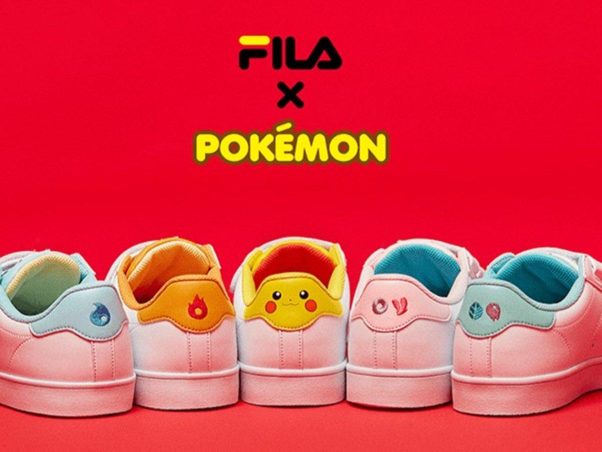 Catch 'Em Pokemon Sneakers with Fila!