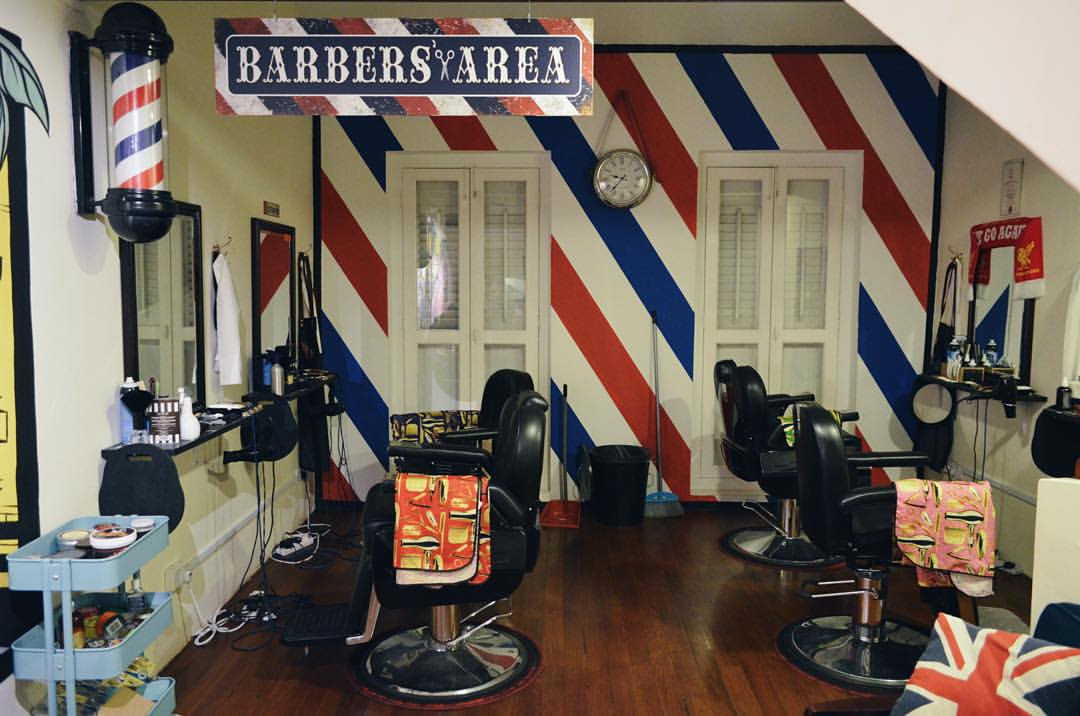 The 'A' Street Barber Shop