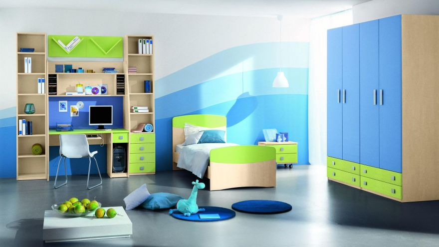 Designate a place for the toys and teach your child to organise