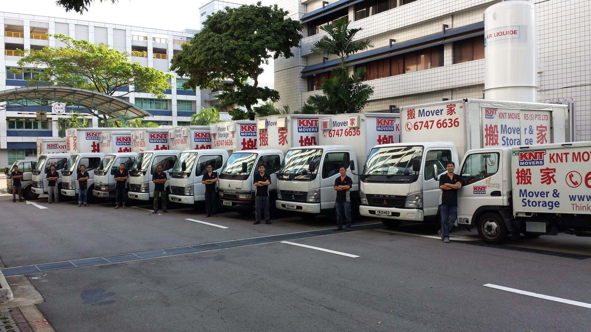KNT Movers in Singapore & House Mover