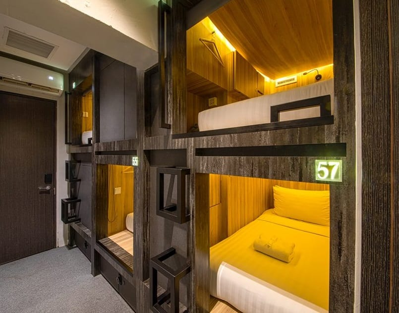 Cube Boutique Capsule Hotel at Chinatown