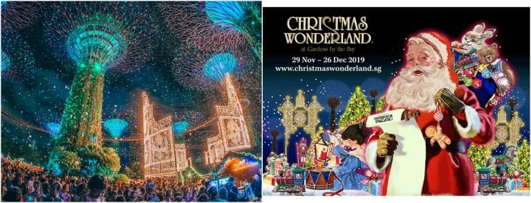 Christmas Wonderland at Gardens by the Bay is Sure to Make You Jolly!