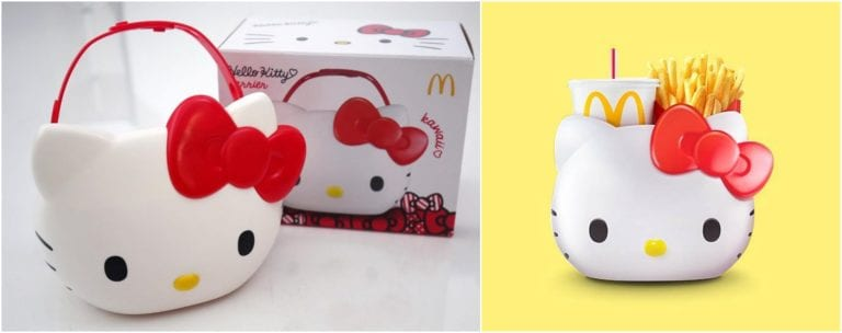 Hello Kitty Carrier Sold Out In McDonald's Singapore On The First Day!