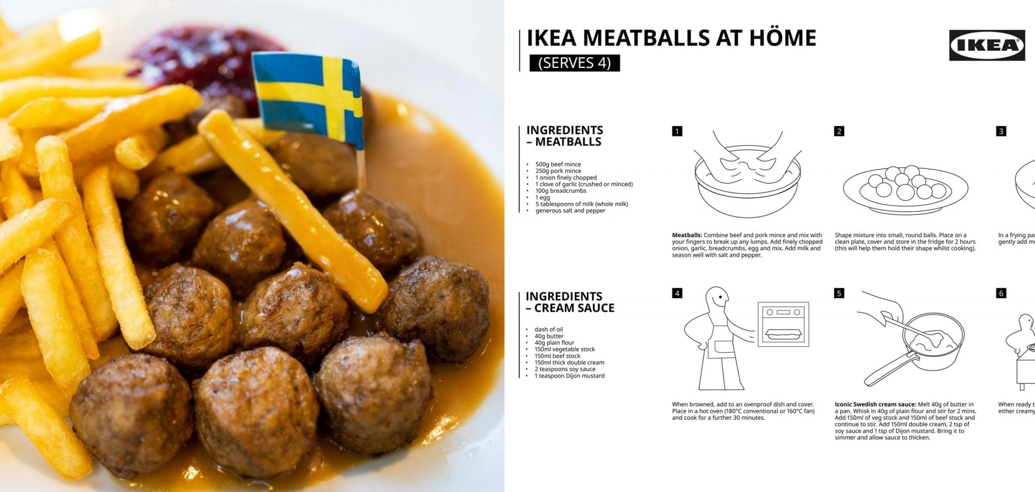 Here S The Official Recipe For Those Iconic Ikea Meatballs You Re