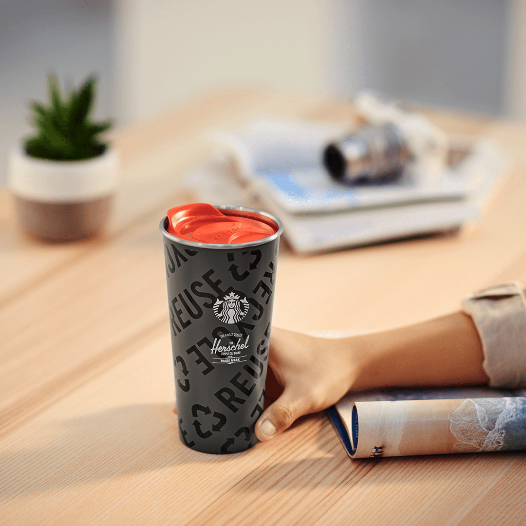 Starbucks X Herschel Supply Designer Collection Tumbler