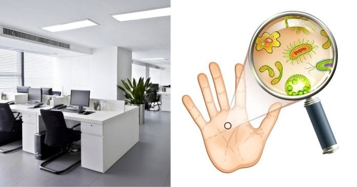 Top 10 Germ Hot Spots In Your Office
