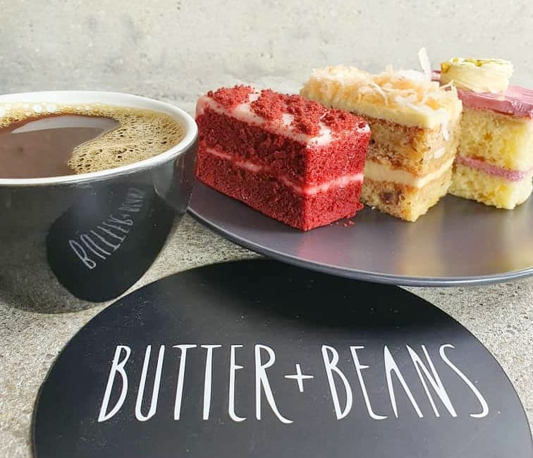 Coffee & Cakes from Butter + Beans At Seventeen