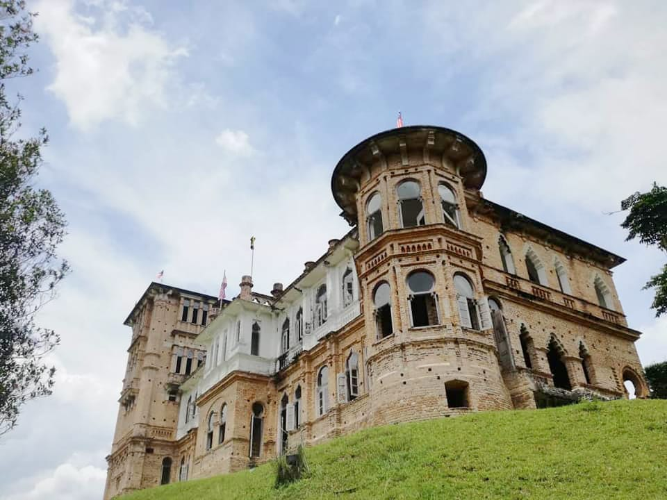 The unique architecture of the old Kellie's Castle