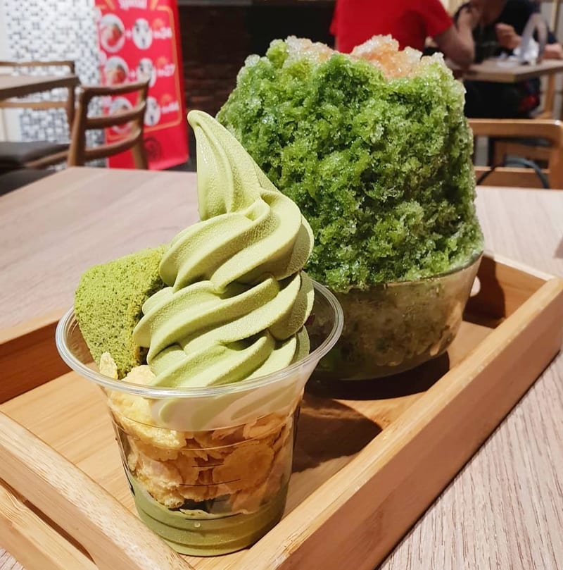 Tsujiri's Parfait & Shaved Ice Selections