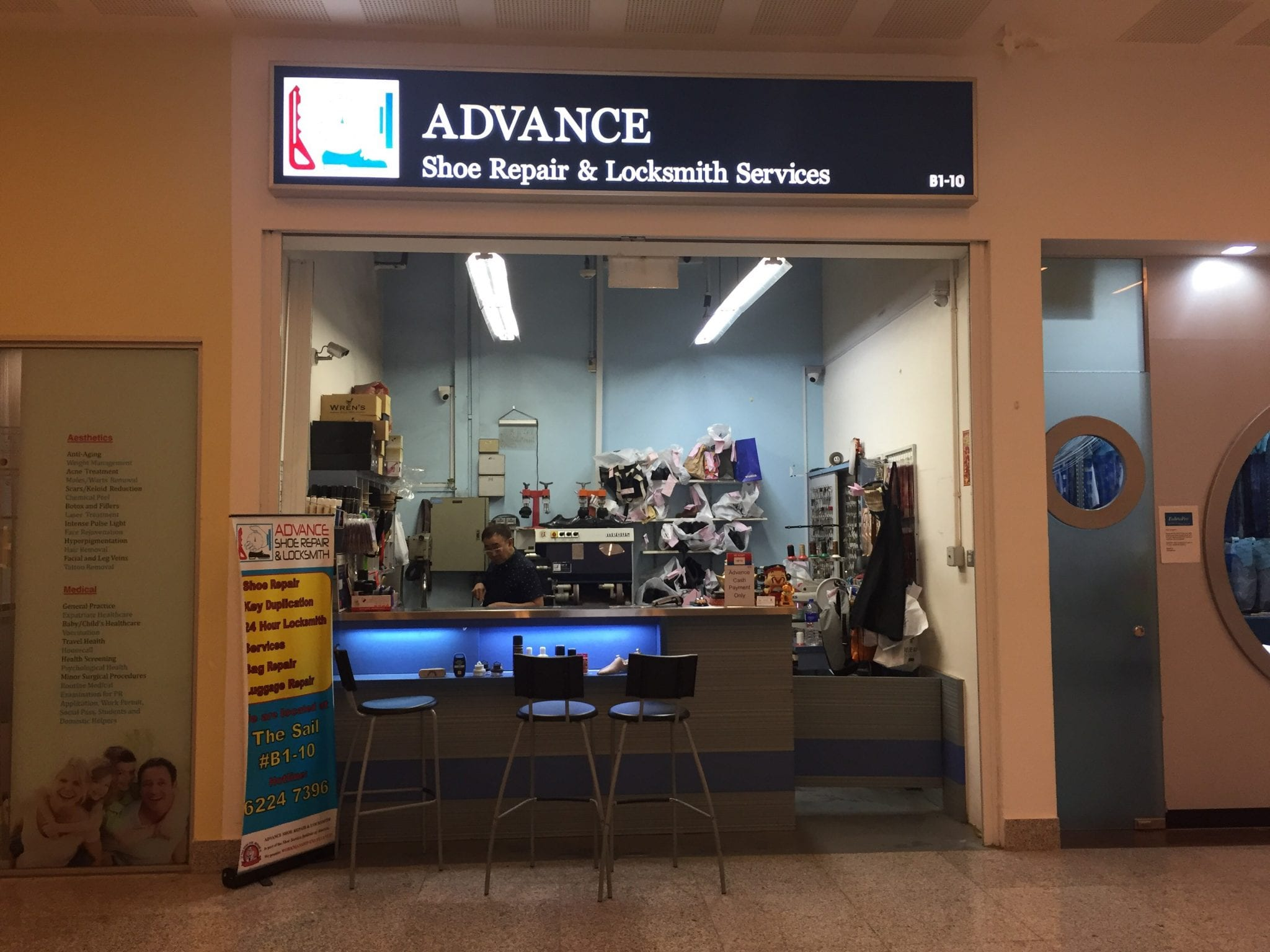 Advance Shoe Repair & Locksmith