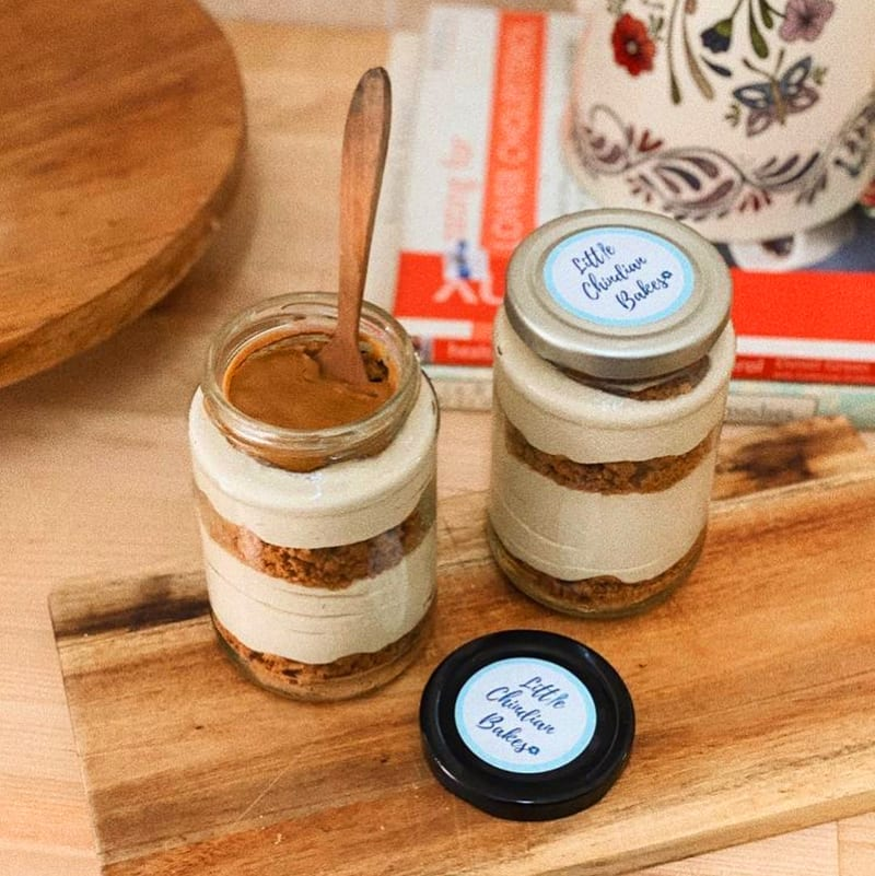 Lotus Biscoff Cheesecake In A Jar from Little Chindian Bakes