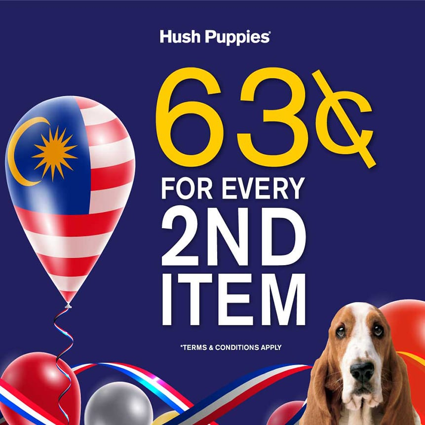 Hush Puppies 63rd Merdeka Promotion 2020